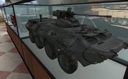 BTR-80 model Museum MW2