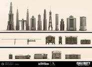 Buildings ConceptArt 3D ShadowsOfEvil BOIII