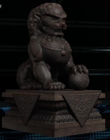 File:Fu Dog figurine collectible BO3.png