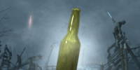 Empty Perk Bottle