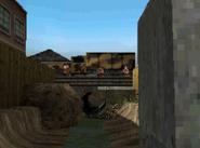 A Russian Troop Transport on the bridge