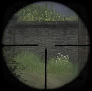 Kar98k sniper scope ADS CoD2