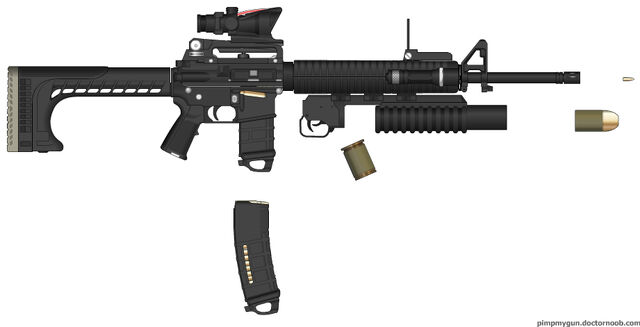 File:M16A4 With M203 & 20&30PMAGs.jpg