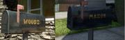 Nuketown Woods Mason Mailbox