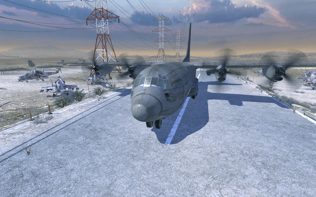 File:C-130 Hercules taking off MW2.png