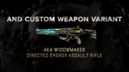 AE4 Widowmaker Promo AW