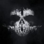 Keegan Russ skull mask pattern CoDG