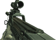 P90 ACOG Scope MW2