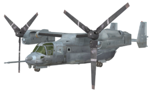 V-22 Osprey model MW3