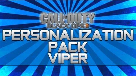 Black Ops 2 - Personalization Pack Viper!! (Camo, Reticle and Calling Card)