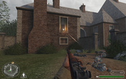 Building bad MG emplacement Brecourt Manor CoD1