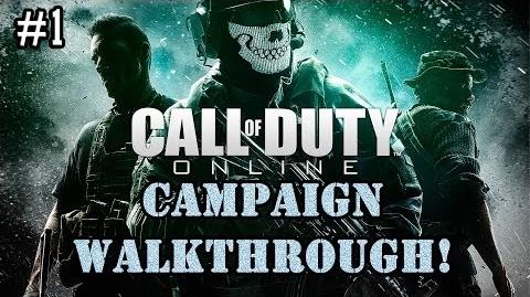 Call Of Duty Online - CAMPAIGN Walkthrough Part 1! (Training!)