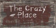 The Crazy Place sign BO2