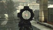 M4A1 ACOG Target Dot MW3