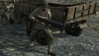File:US Soldier shooting Bazooka Battle of Peleliu World at War.jpg