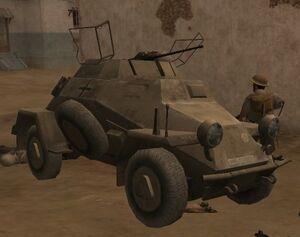 Sd. Kfz. 222 CoD2
