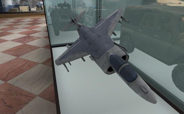File:AV-8B Harrier II model Museum MW2.png