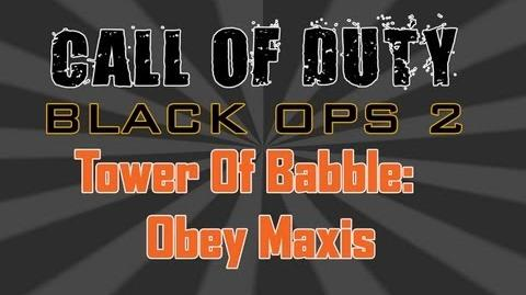 Black Ops 2 - Tower of Babble Obey Maxis (Easy Tutorial) HD