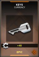 Keys Epic Supply Drop Card IW