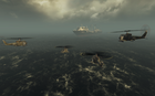 UH-1s flying towards Rusalka Redemption BO