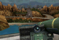 Taking out armor with a javlin MW3DS mountains.PNG