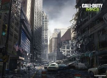 MW3 New York Concept Art Sledgehammer