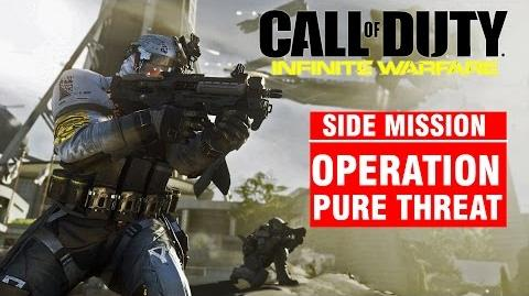 Call of Duty Infinite Warfare Side Mission - Operation PURE THREAT Campaign Gameplay Walkthrough