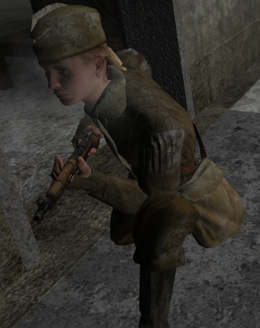 File:Crouching Soviet CoD2.png