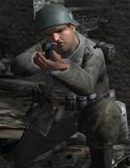 German soldier Normandy 2 CoD2