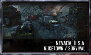 Nuketown menu selection BO2