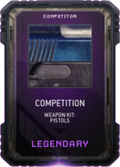 Competition Weapon Kit Supply Drop Card MWR
