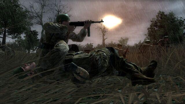 File:Fallschirmjäger fighting CoD3.jpg