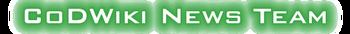 CoDWiki News Team Banner
