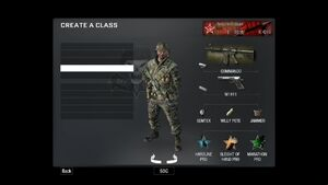 Create-a-Class BO