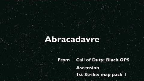 Abracadavre Elena Siegman Call of Duty Black Ops - Ascension Easter Egg song Kevin Sherwood