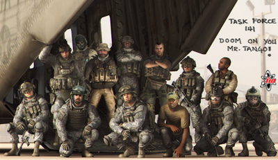 TF141 full squad picture