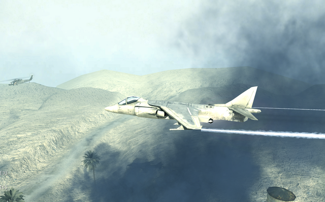File:AV-8B Harrier II side view Charlie Don't Surf COD4.png
