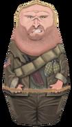 Tank Dempsey Matryoshka Doll model BO