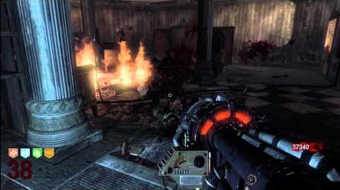 Setting the Fire Trap in Round 38
