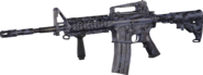 M4 Carbine Blue Tiger MWR