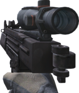 Mini-Uzi ACOG Scope CoD4