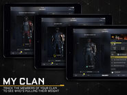 COD AW (app) My Clan - Promotional