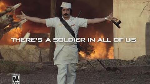 "Call of Duty Black Ops TV Commercial ""There's A Soldier In All Of Us"""