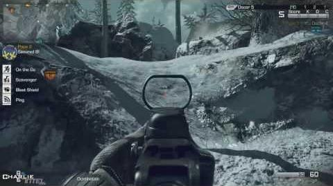 Call of Duty Ghosts Multiplayer Gameplay Whiteout (Domination)