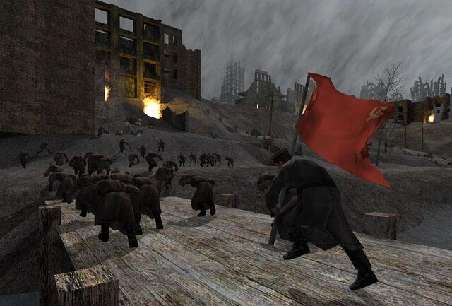 File:Stalingrad Soviets running CoD1.jpg