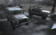 UAZ-469 All Ghillied Up COD4