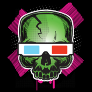 Zombie Skull Emblem IW