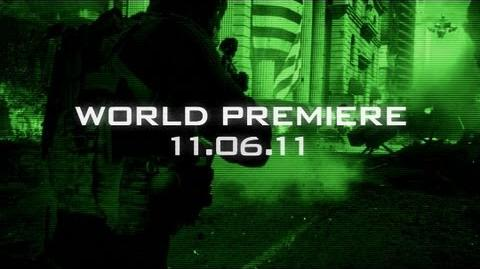 Official Call of Duty Modern Warfare 3 - Live Action Trailer Teaser 2