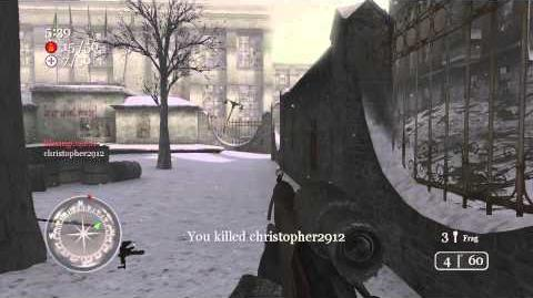 Call of Duty 2 Team Deathmatch Moscow 1 25 13