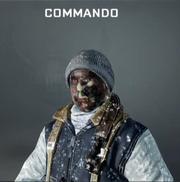 Commando Face Paint BO